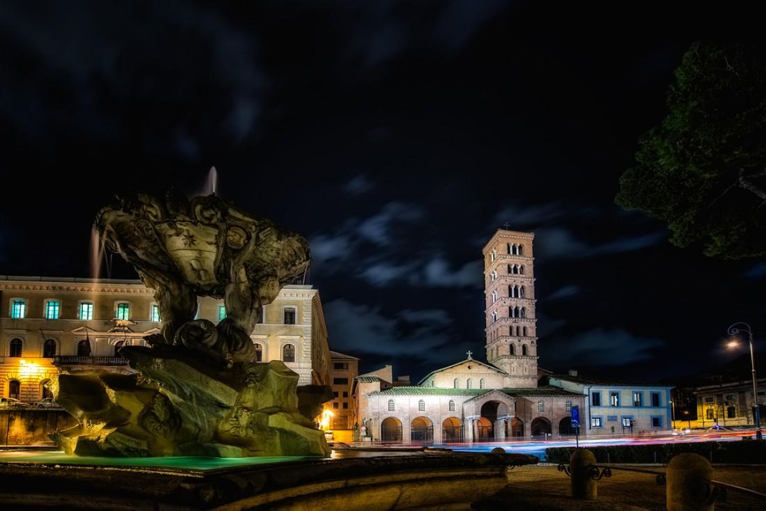 Базилика Санта-Мария-ин-Космедин. Рим, Италия