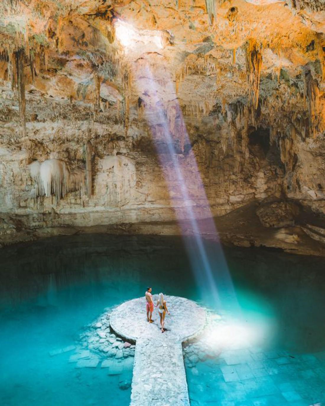 Канкун наполнен настоящим первобытным волшебством