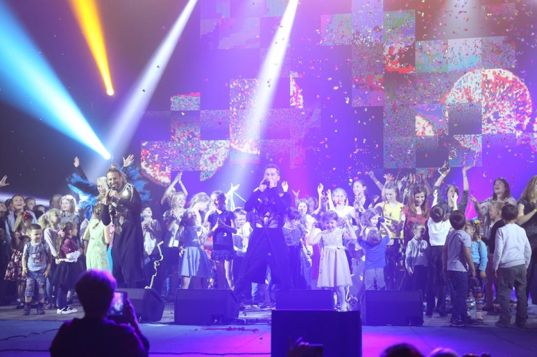В Киеве состоялся благотворительный концерт для детей