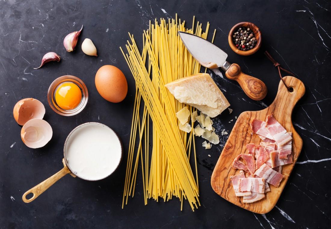 Паста Карбонара: классический рецепт итальянских спагетти