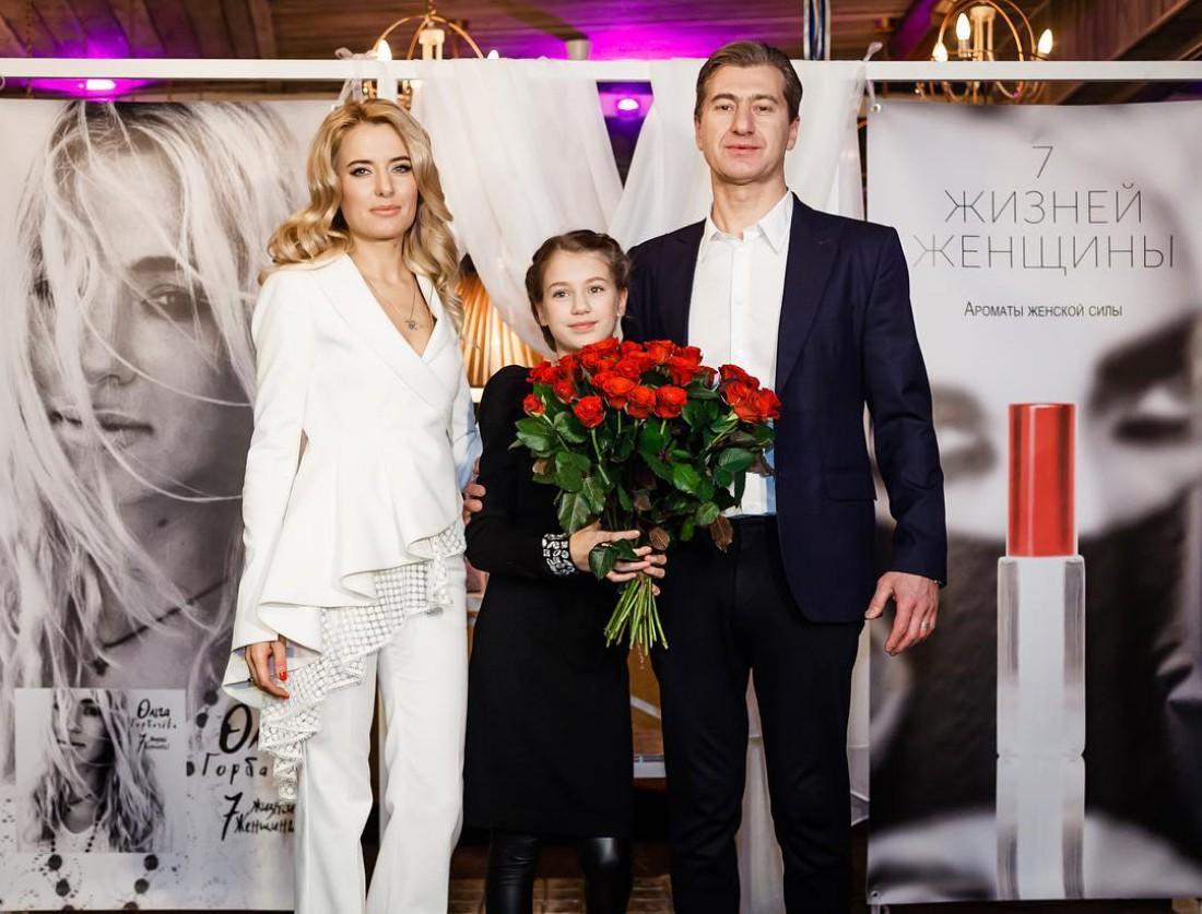 Ольга Горбачева с Юрием Никитиной и их дочкой Полиной