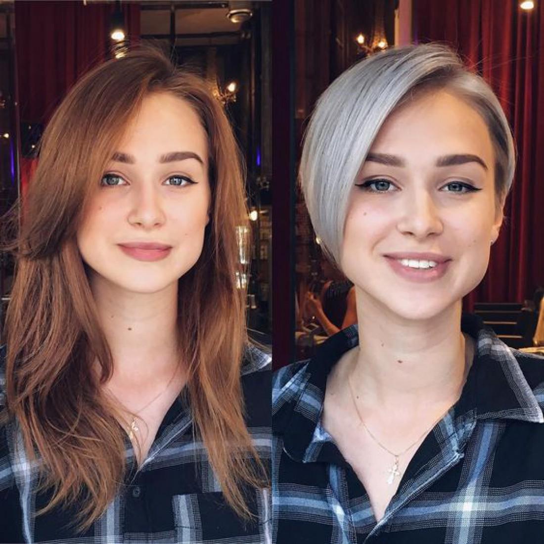 Как стрижка способна изменить девушку: Фото до и после