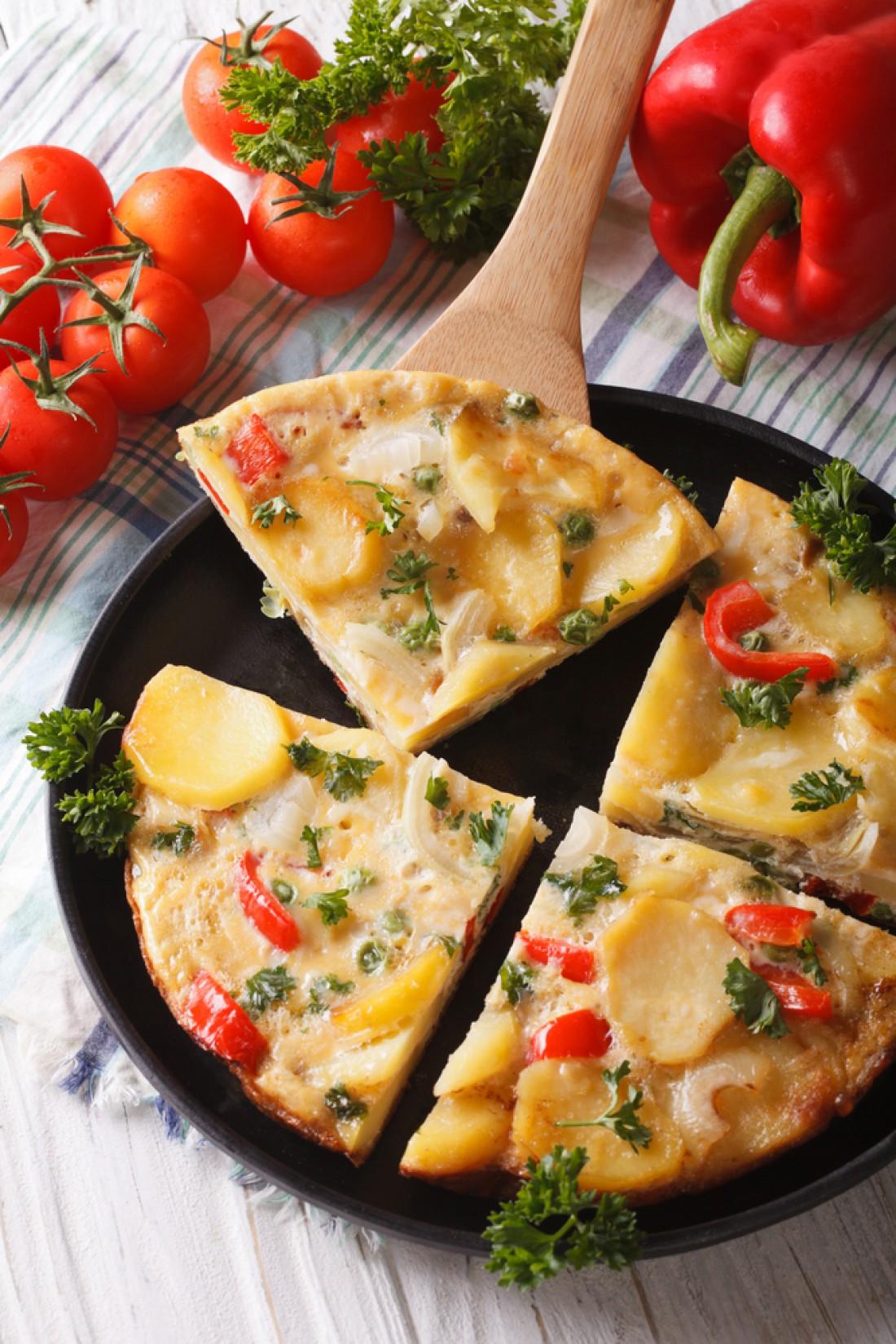 Испанская тортилья: рецепт с фото