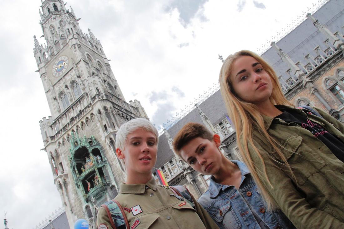 Участницы шоу Супермодель по-украински 3 в Мюнхене