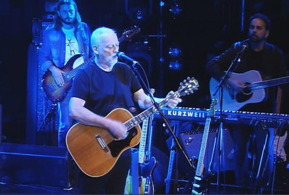 Лидер Pink Floyd Дэвид Гилмор