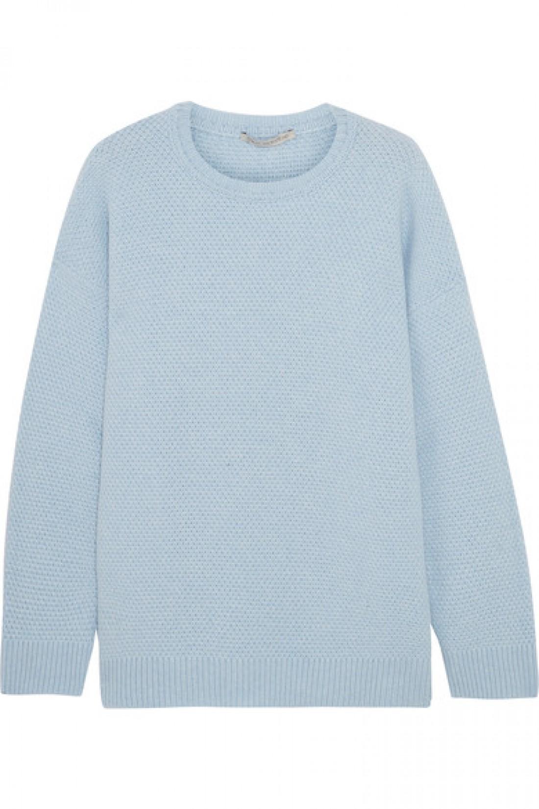 Небесно-голубой свитер