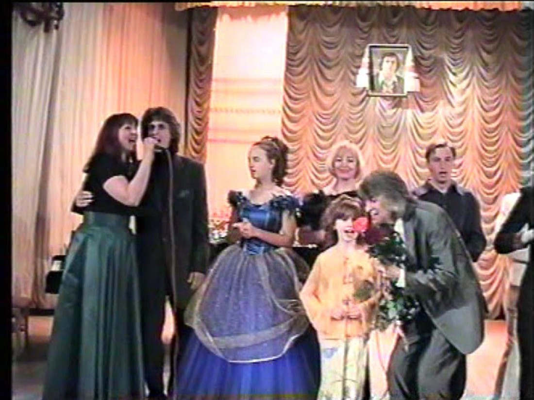 Мария Яремчук на сцене