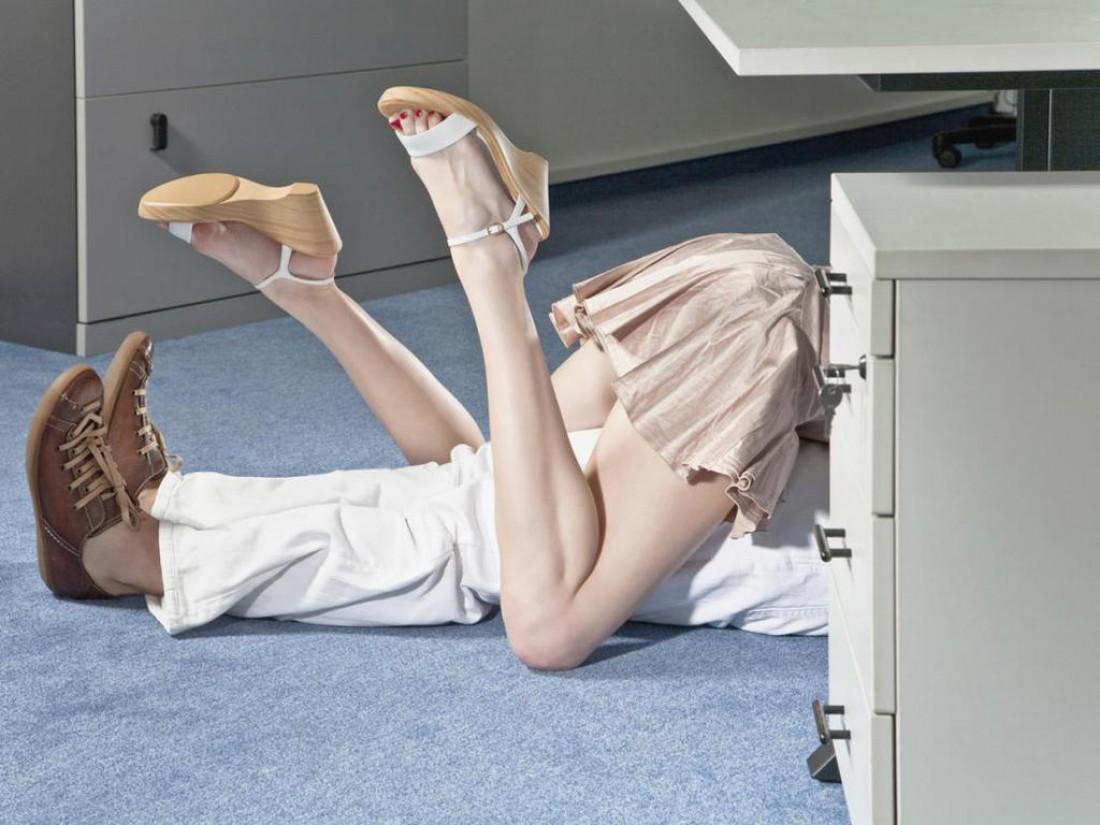 Вариант с пустым офисом тоже не самая плохая идея!