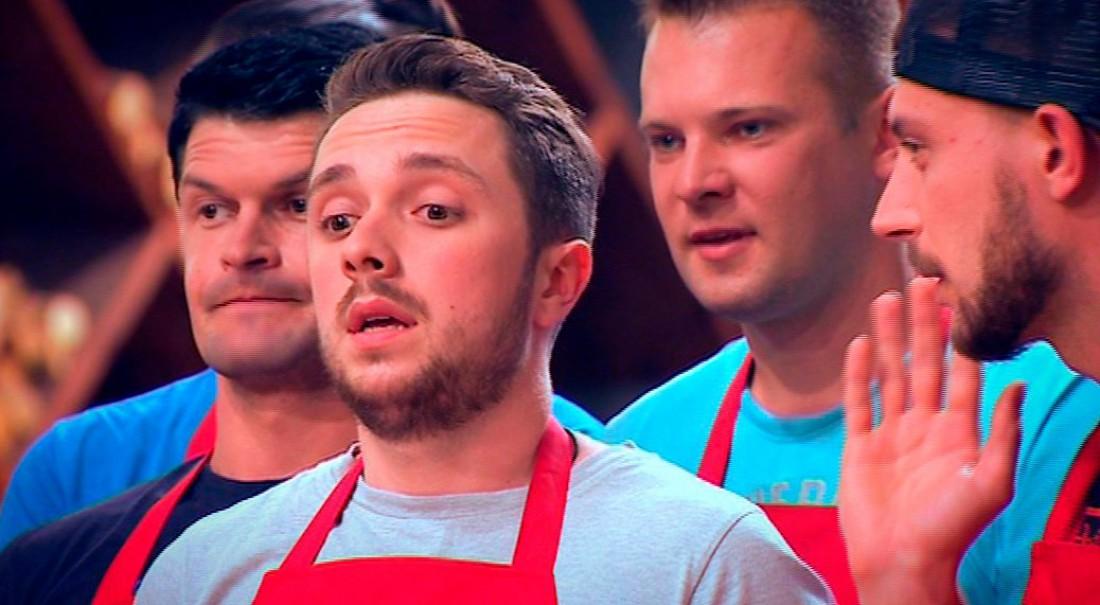 МастерШеф 6 сезон 4 выпуск: Алексей Цебинога взял на себя руководство красной командой