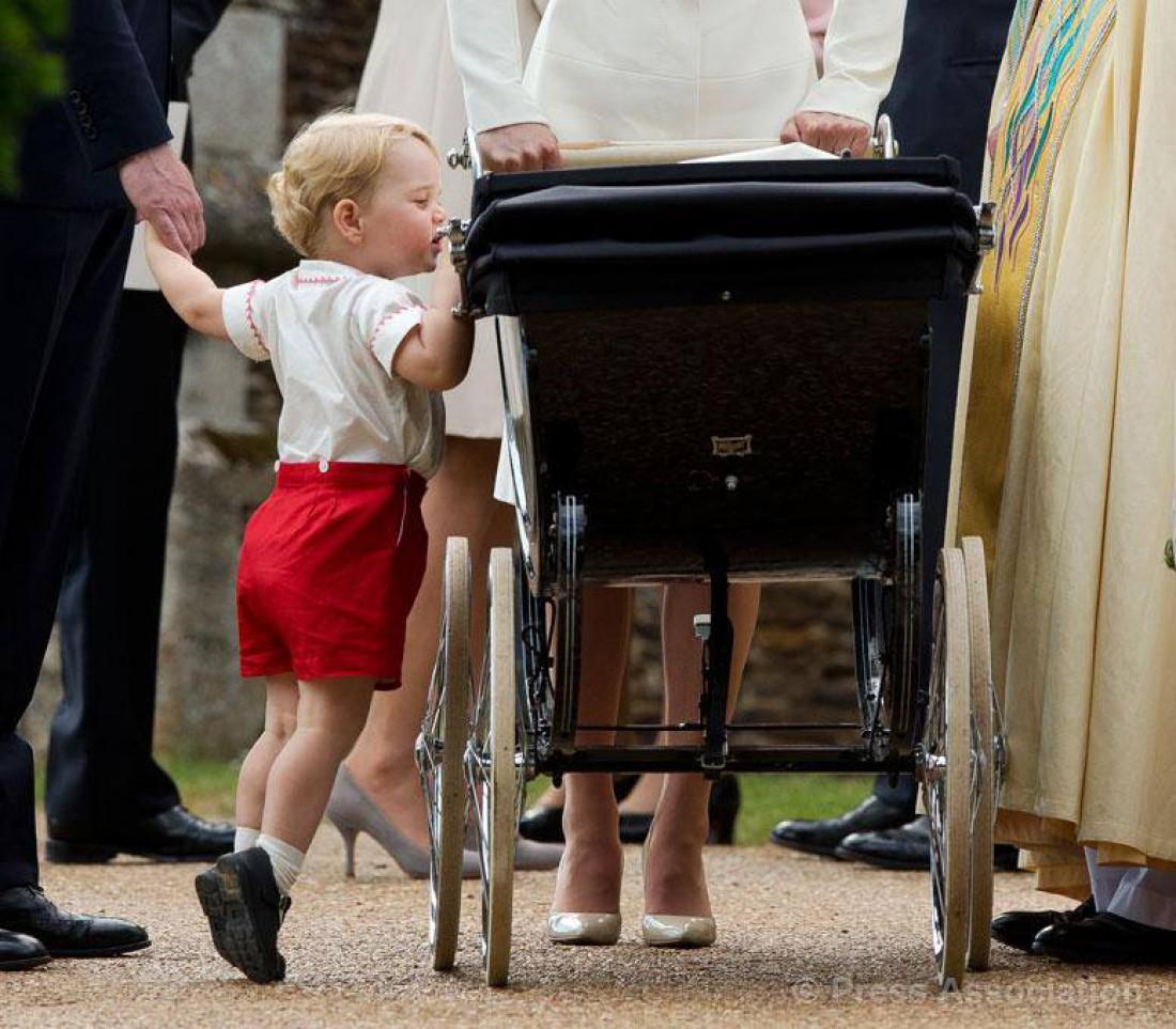 Принц Джордж в конце января 2016 года пойдет в детский сад