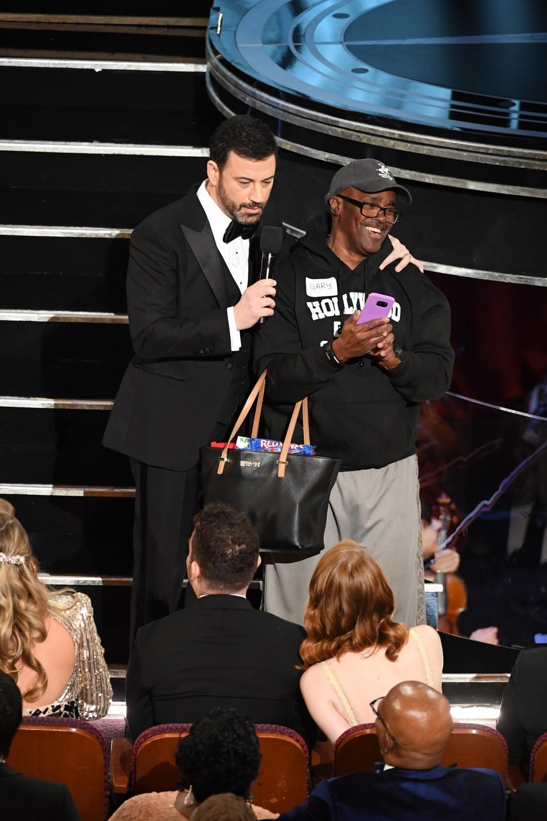 Оскар 2017: Джимми Киммел и Гэри Алан Коу