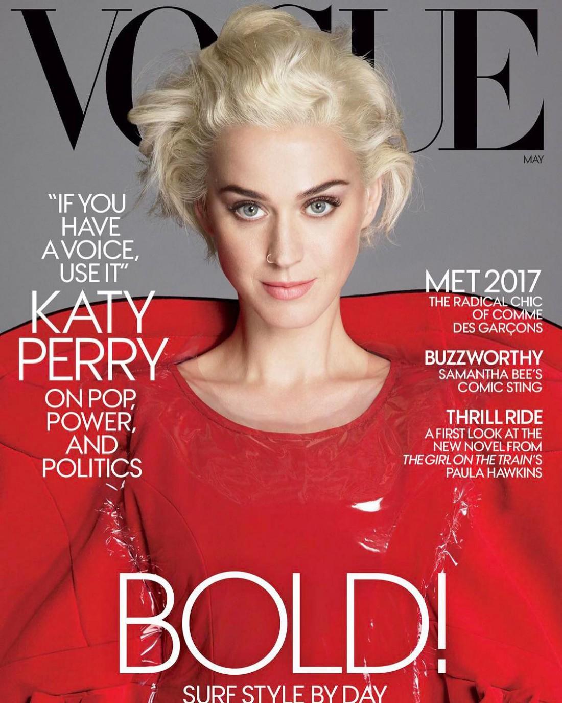 Майская обложка Vogue US