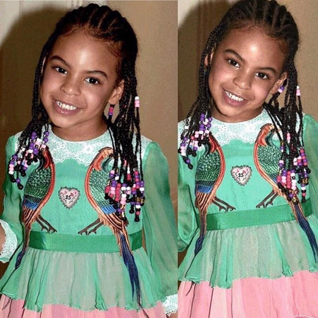 Дочь Бейонсе пришла напремьеру фильма в одеяние  за $26 тыс.