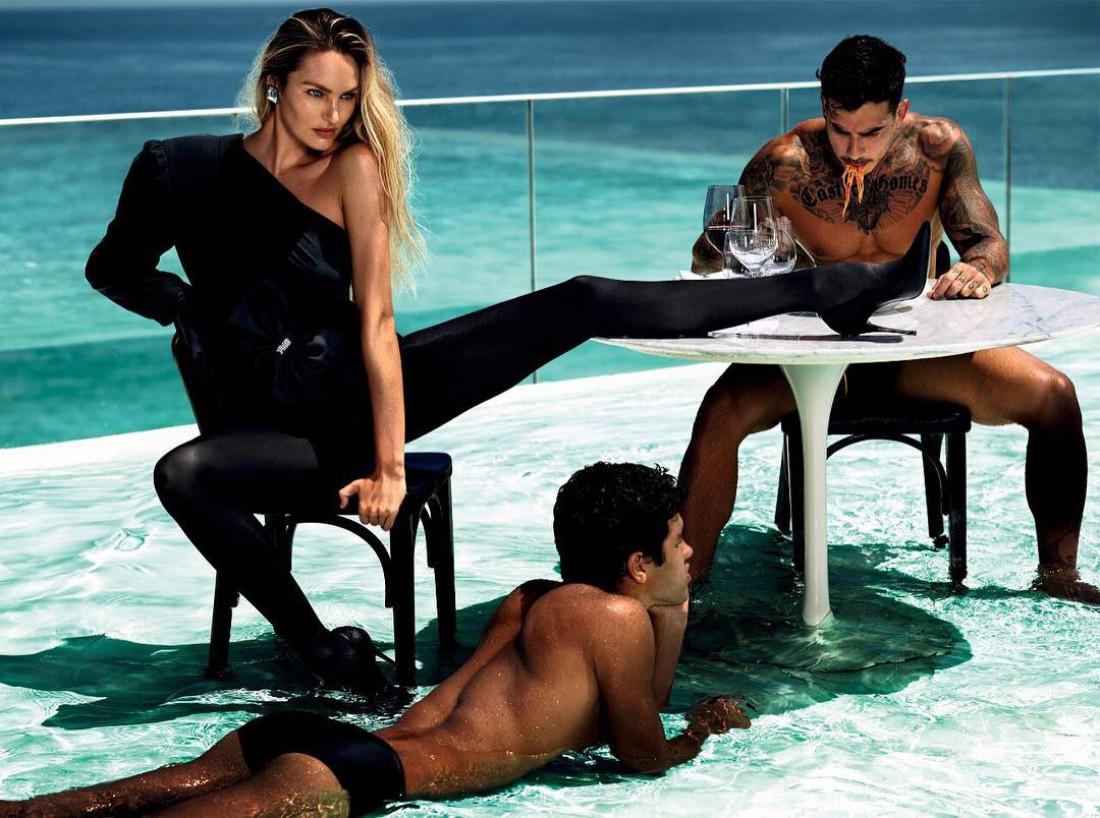 Ангел Victoria s Secret украсила обложку Vogue - Тренды моды b7f7b0da5f653