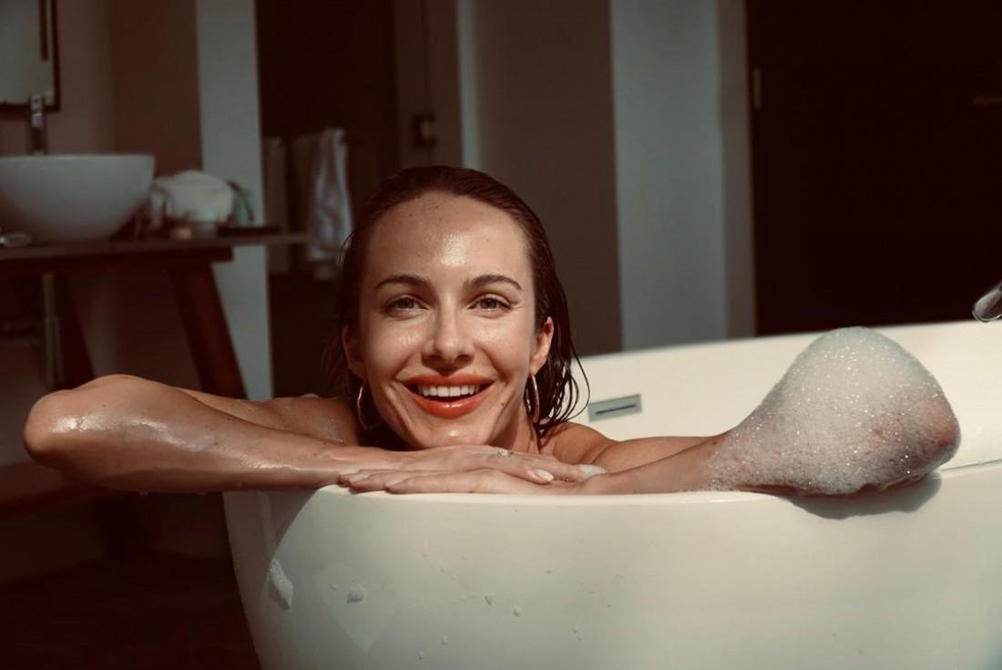 Жена Остапчука раскрыла секрет своей красивой улыбки