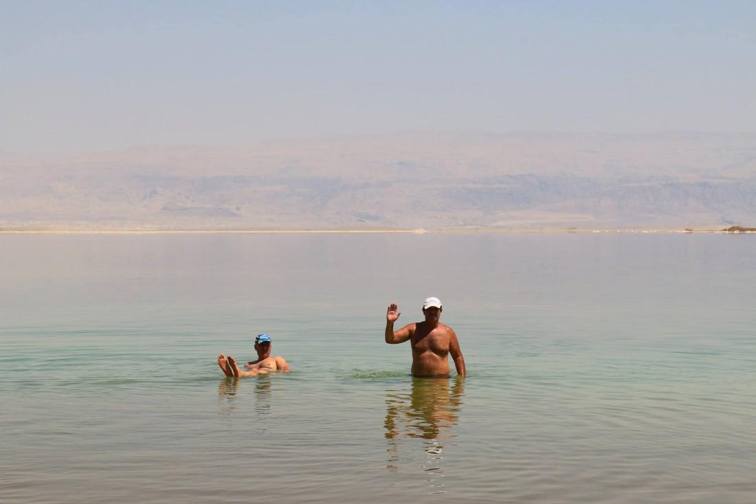 Мертвое море – самое соленое озеро мира