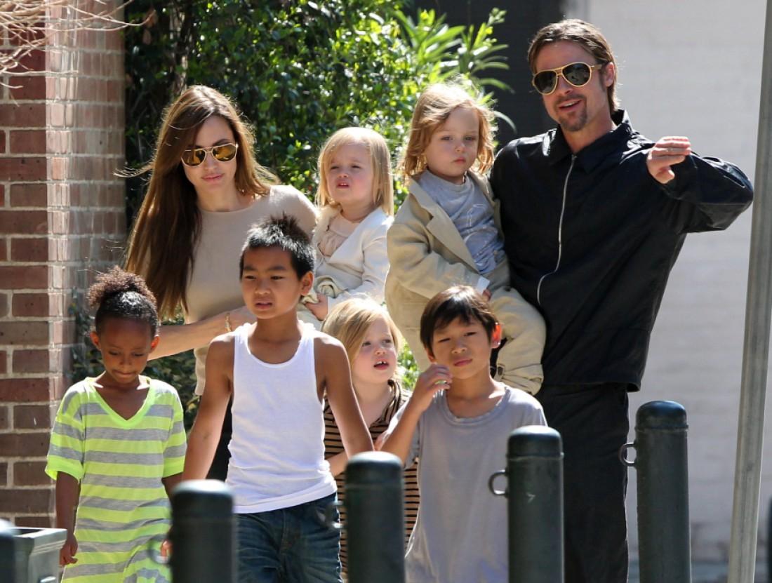 Семья Джоли-Питта