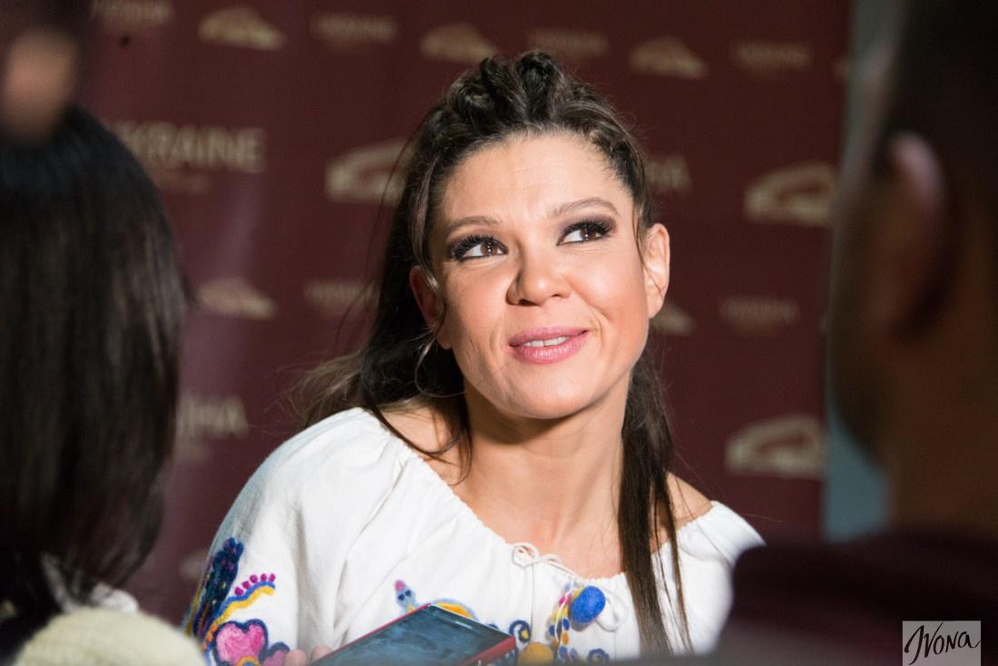 Украинская певица Руслана