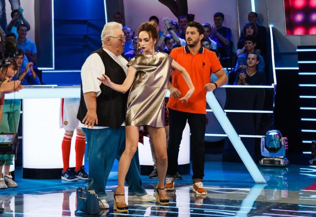 Варнава устроила мастер-класс по танцам Сивохе