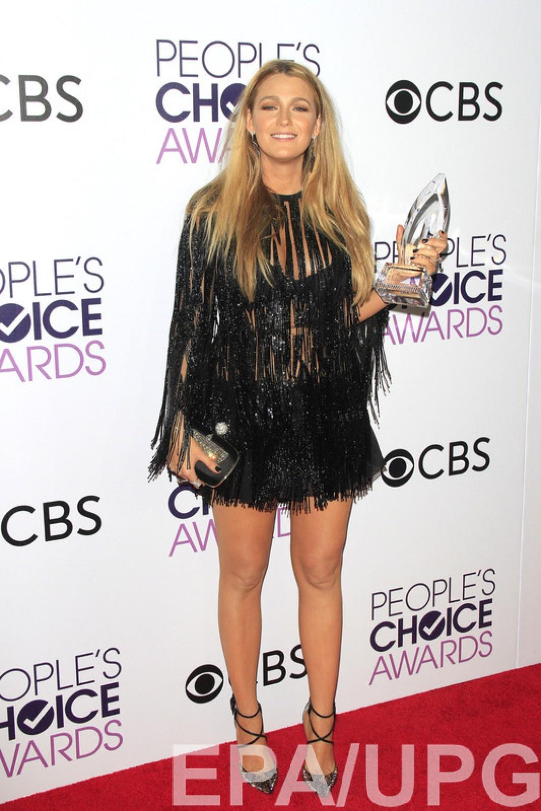 Актриса стала Любимой драматической актрисой по версии People's Choice Awards 2017