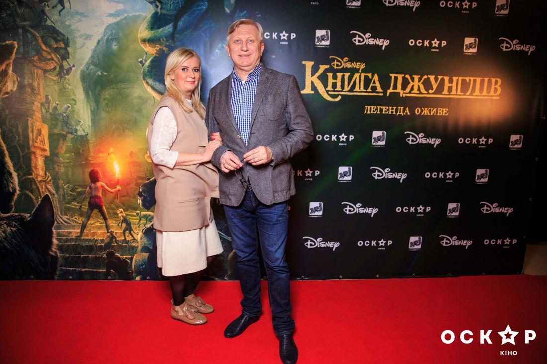 Владимир Горянский с женой Еленой