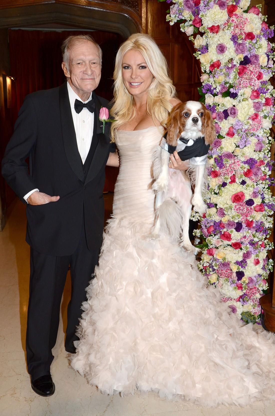 Хью Хефнер с женой