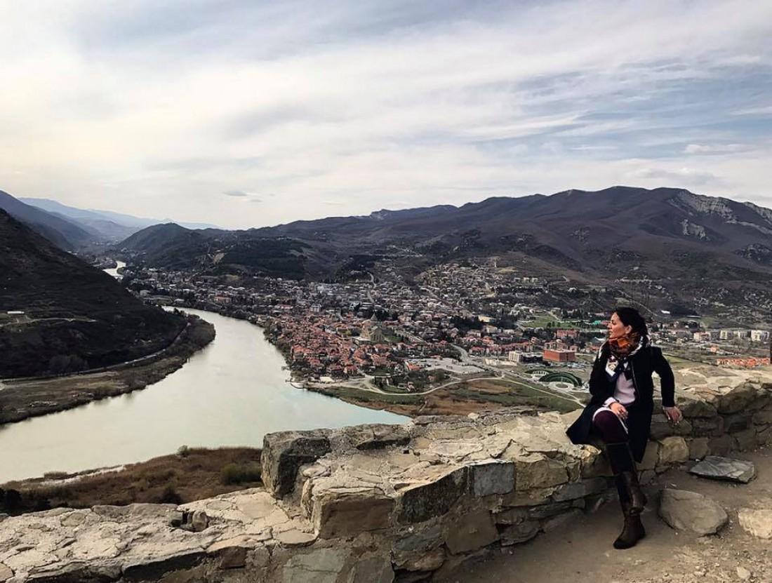Юлия Зорий в Грузии