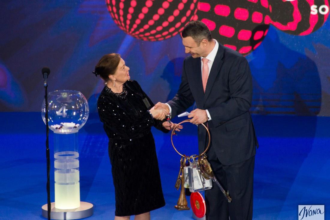 Евровидение 2017: мэр Киева (Украина) и мэр Стокгольма (Швеция)