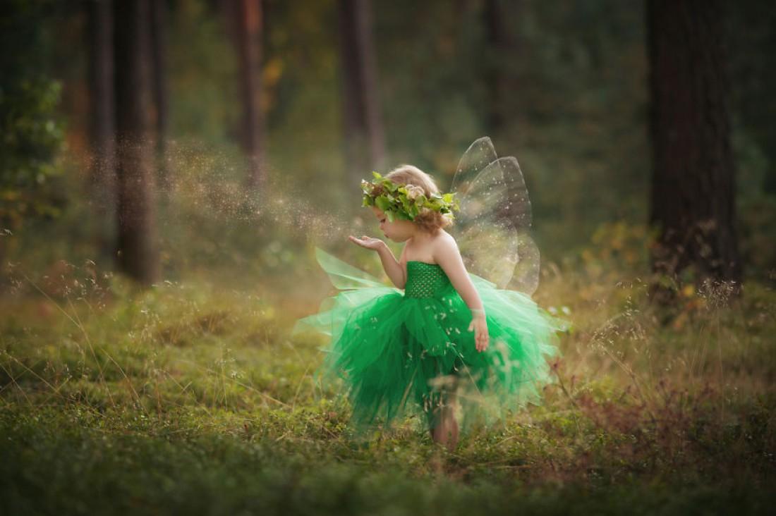 Польская учительница самостоятельно придумывает и шьет костюмы для своих детей
