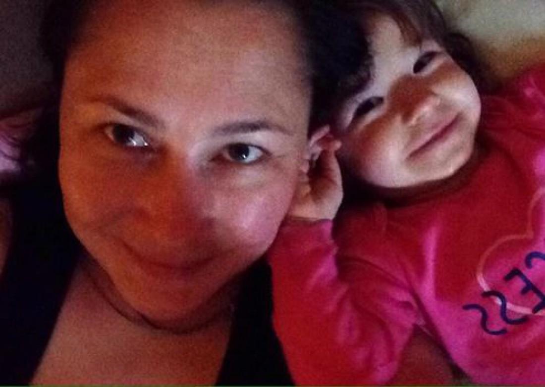 Алена с дочкой Соломией