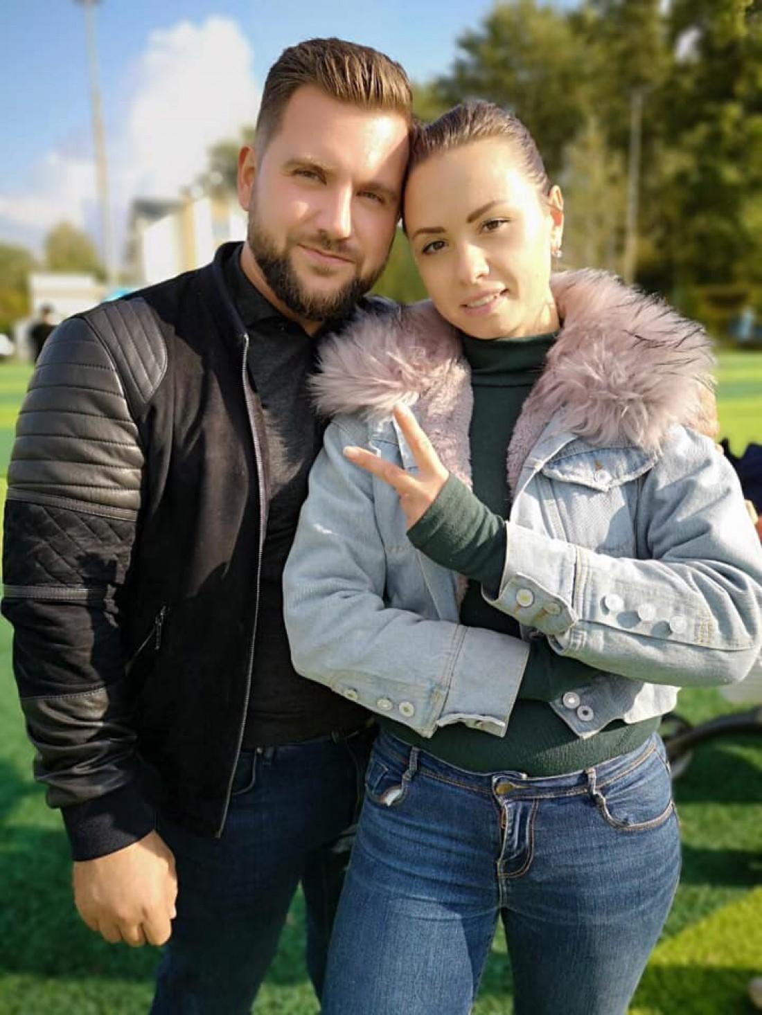 Ярослав Куц с супругой