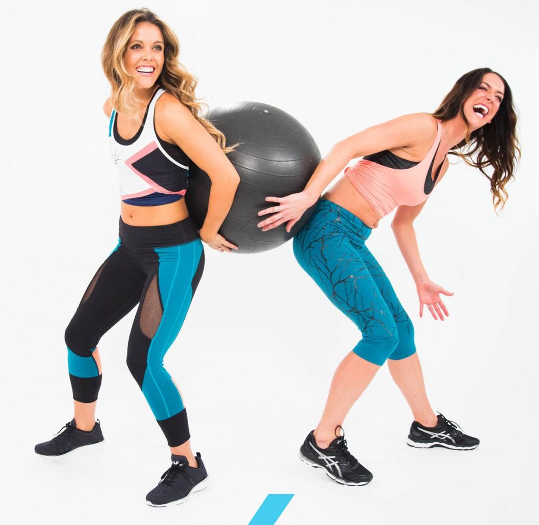 Упражнения для парных занятий спортом