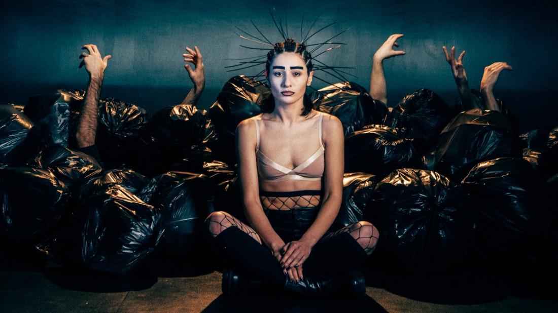 Съемки клипа группы её с Женей Галичем