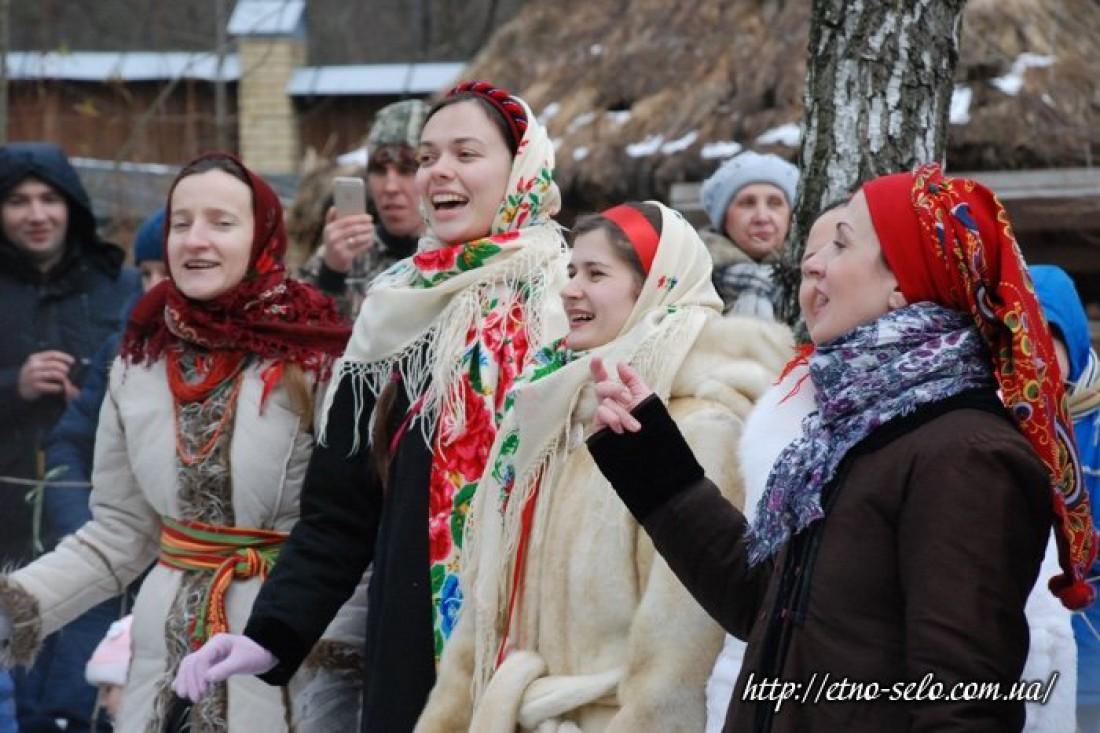 Масленица в Украинском селе