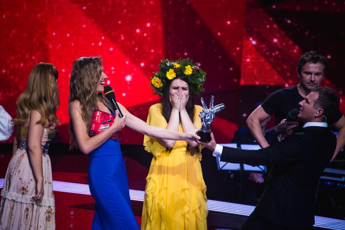 Победителем стала подопечная Вакарчука