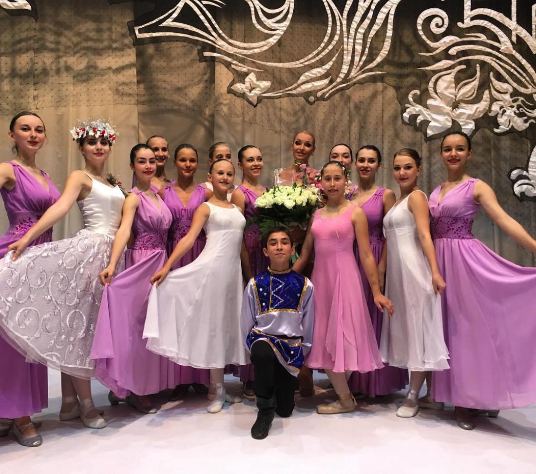Анастасия Волочка дает концерты в Крыму