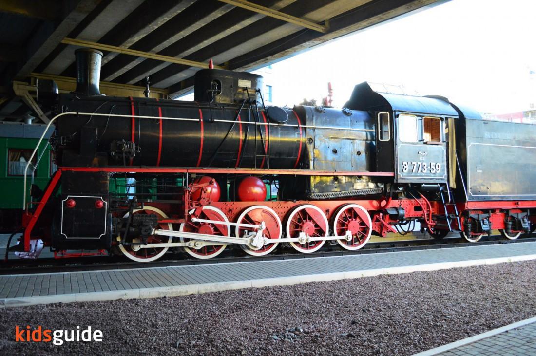 Выставка локомотивов