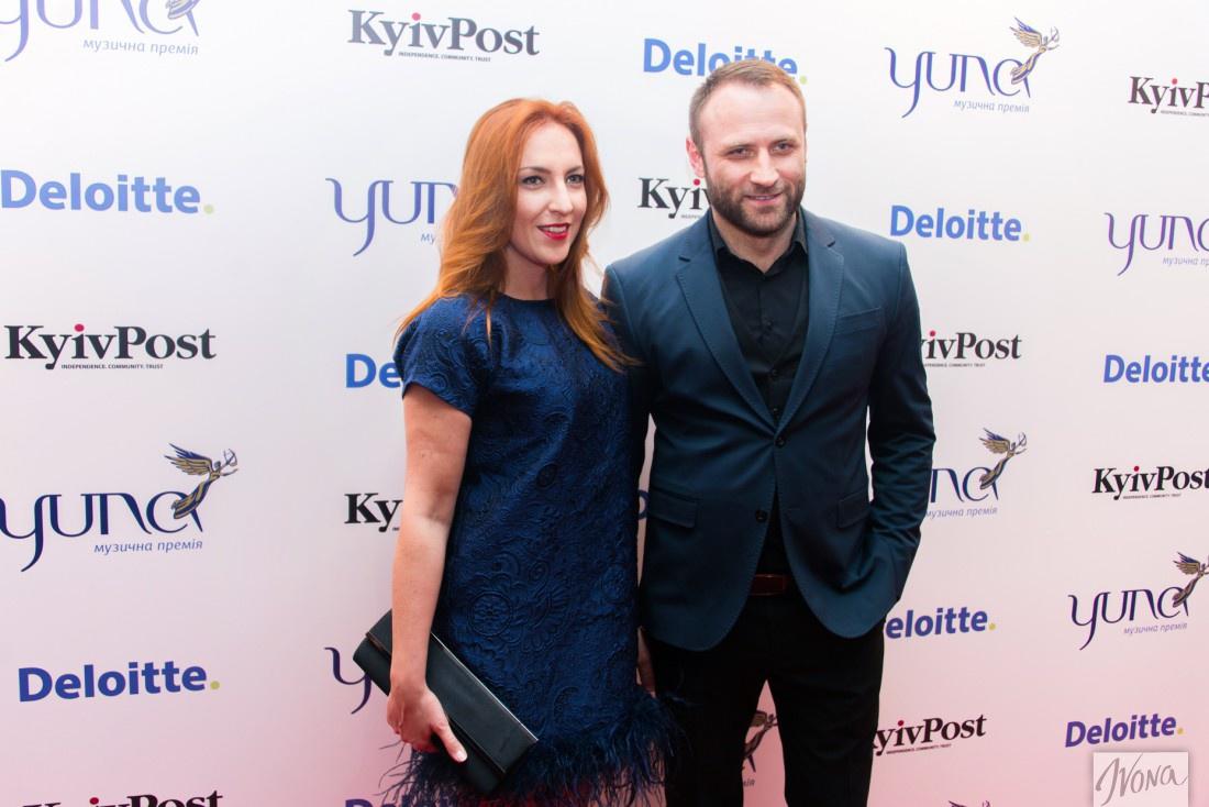 Сергей Гладыр с Яной Прядко