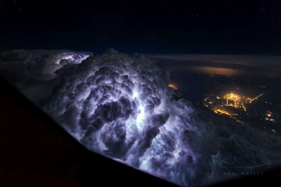 Небо глазами пилота Боинг 747