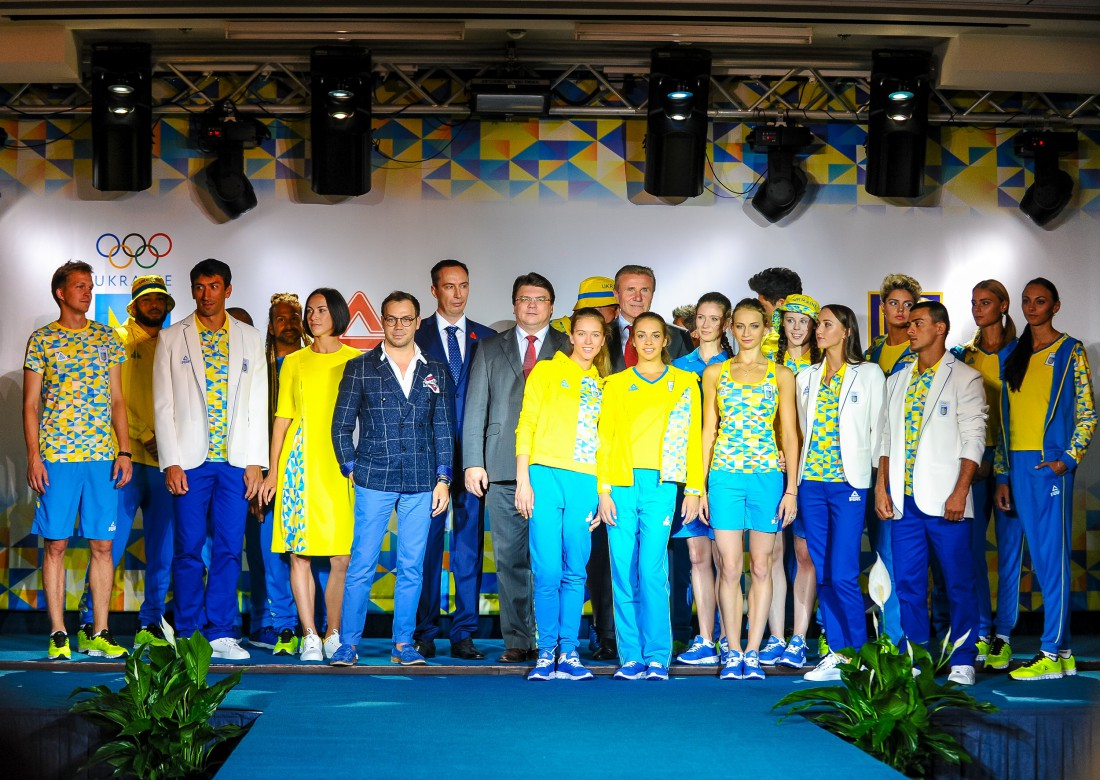 Презентація олімпійської форми