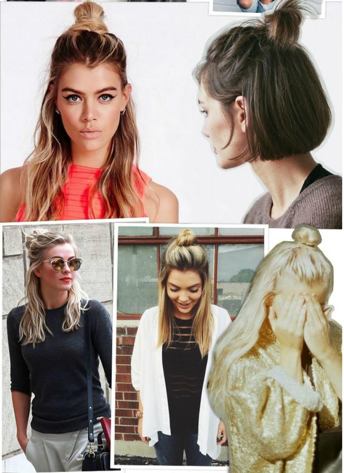 Модные причёски и легкие