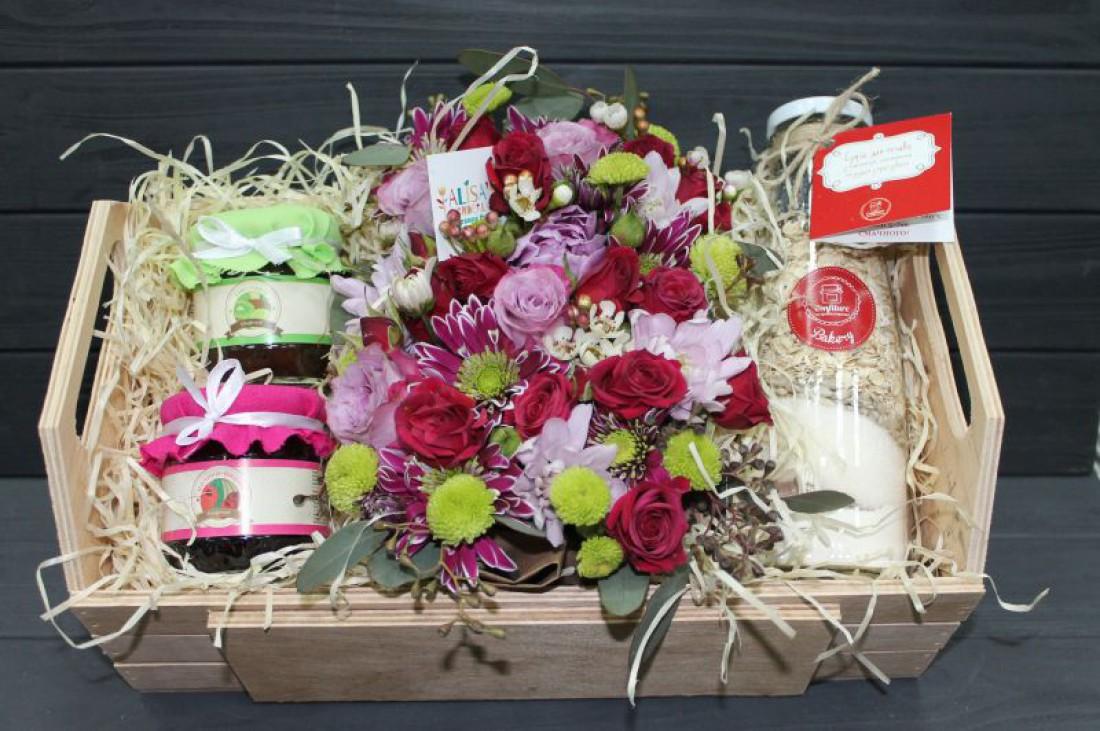 Подарок на 8 марта: Набор конфитюров