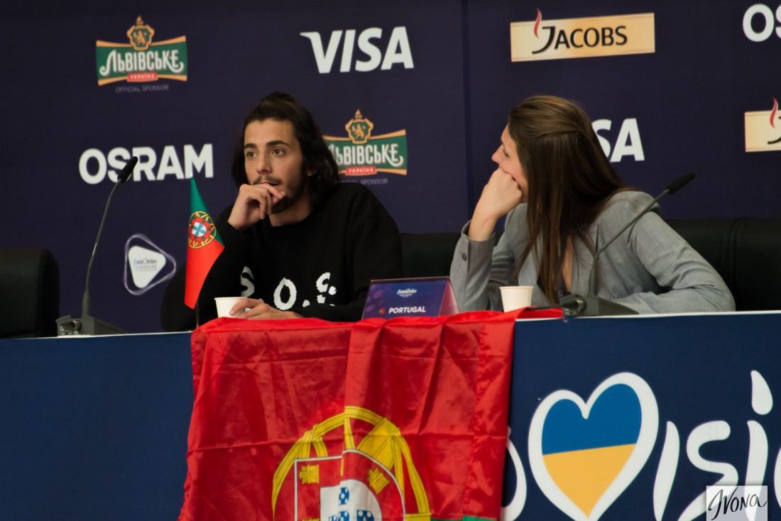 Евровидение 2017 Португалия: Сальвадор Собрал с сестрой