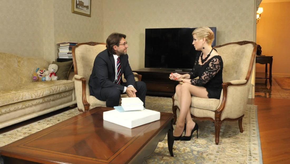Андрей Малахов и Мария Максакова