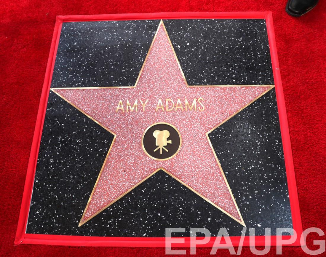 Именная звезда Эми на голливудской Аллее славы