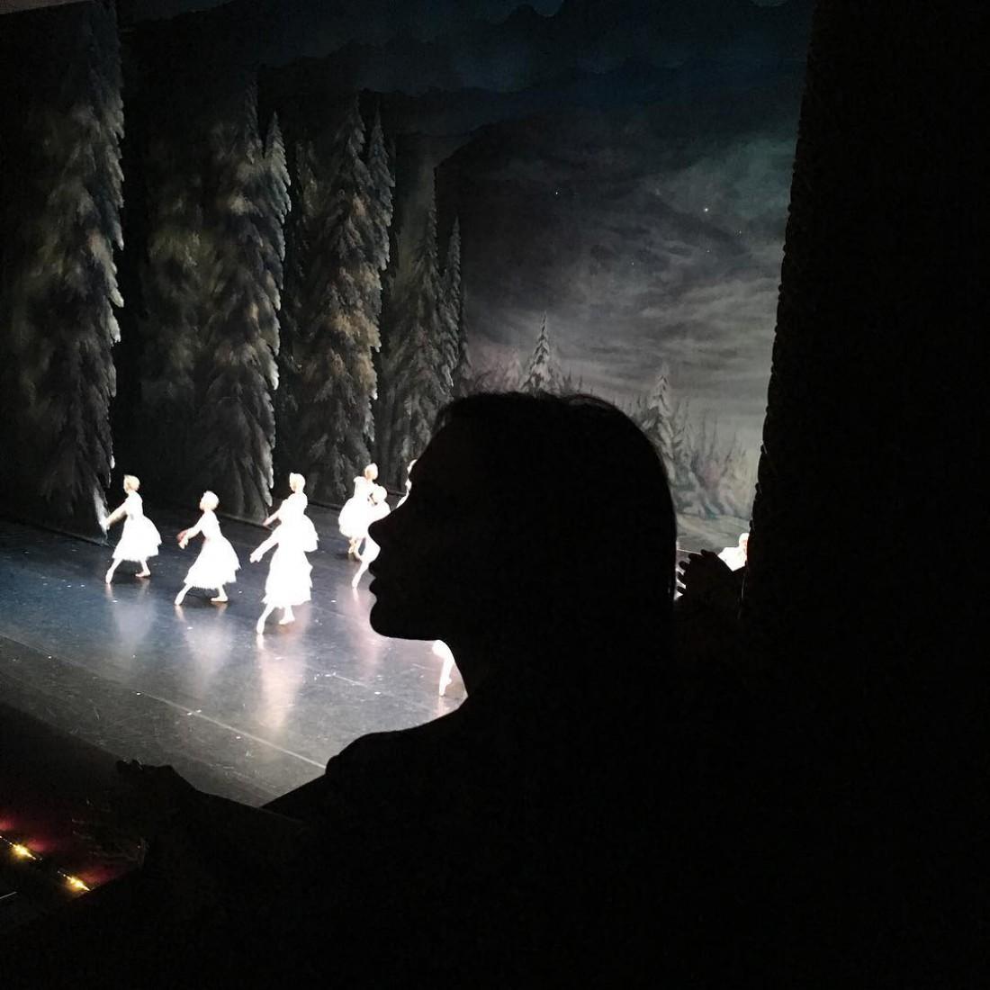 Виктория сводила дочь на балет Щелкунчик