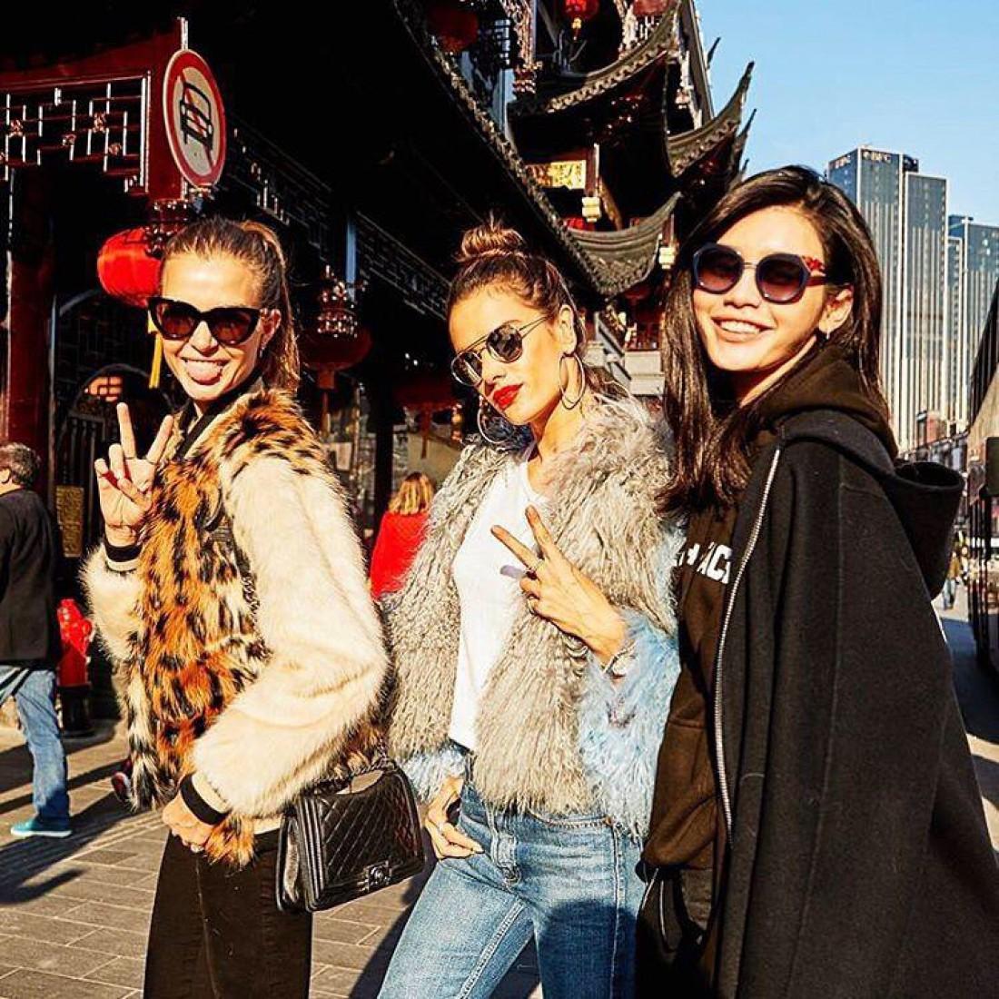 Ангелы Victoria's Secret в Китае