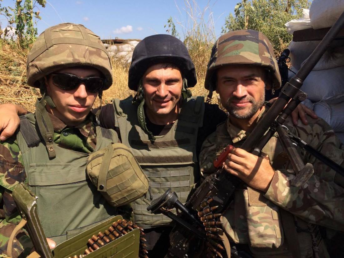 Андрей Цаплиенко (в центре), Анатолий Пашинин (справа)
