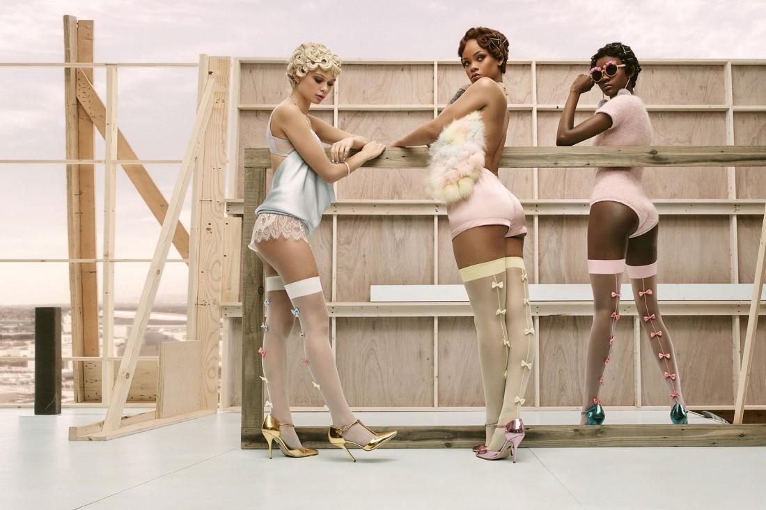 Рианна разработала коллекцию носков для Stance