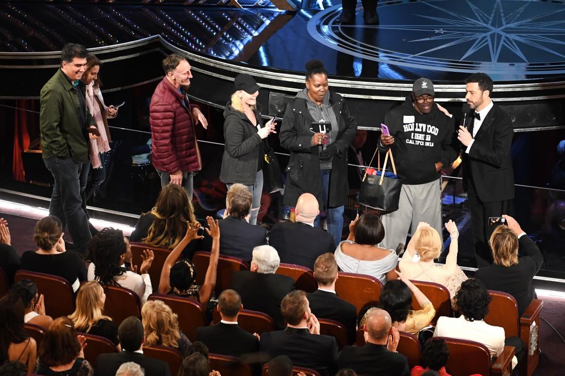 Оскар 2017: туристы на церемонии